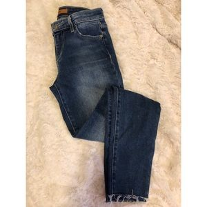 JOE'S JEANS: the icon mid rise skinny ankle